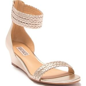 Badgley Mischka Wedge Sandal
